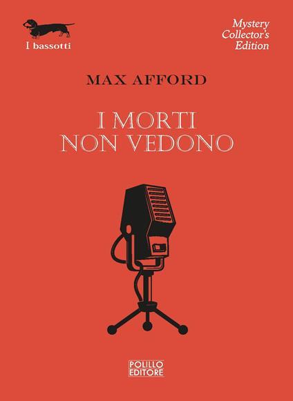 I morti non vedono - Max Afford - copertina