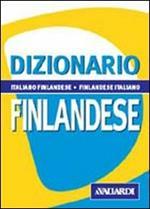 Dizionario finlandese. Italiano-finlandese. Finlandese-italiano