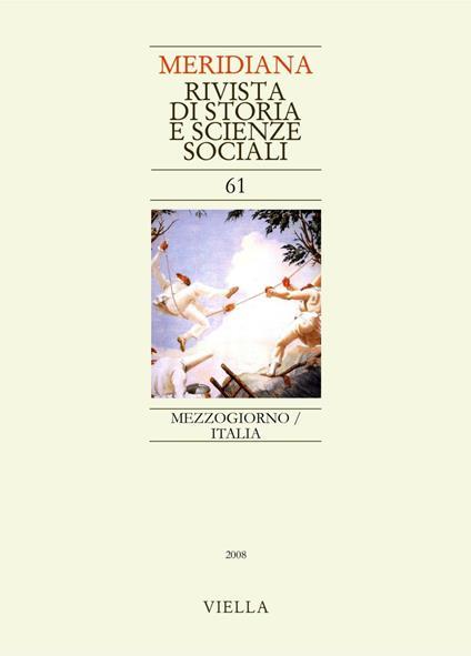 Meridiana (2008). Vol. 61 - AA. VV. - ebook