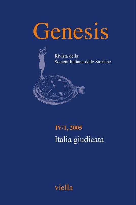 Genesis. Rivista della Società italiana delle storiche (2005). Vol. 1 - AA. VV. - ebook