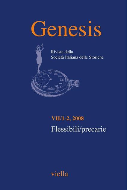Genesis. Rivista della Società italiana delle storiche (2008) Vol. 1-2: Flessibili/precarie - Autori Vari - ebook