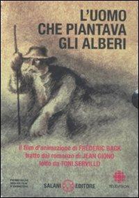 L' uomo che piantava gli alberi. Con DVD - Jean Giono - copertina