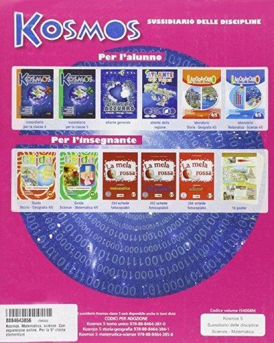 Kosmos. Matematica, scienze. Per la 5ª classe elementare. Con espansione online - 2