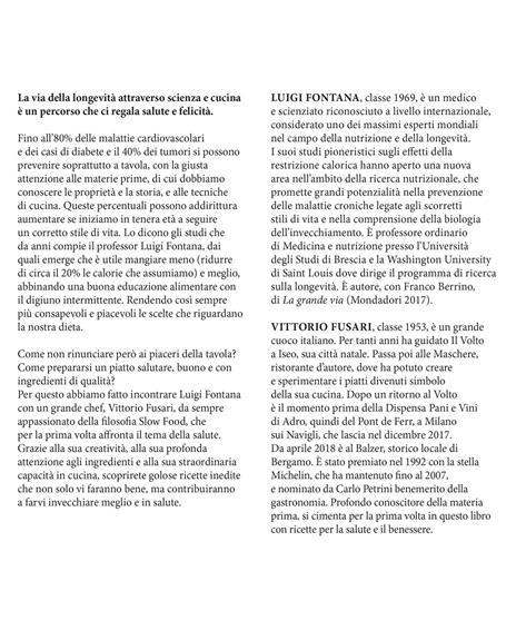 La felicità ha il sapore della salute. La via della longevità tra scienza e cucina - Luigi Fontana,Vittorio Fusari - 3