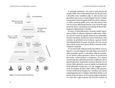 La felicità ha il sapore della salute. La via della longevità tra scienza e cucina - Luigi Fontana,Vittorio Fusari - 5