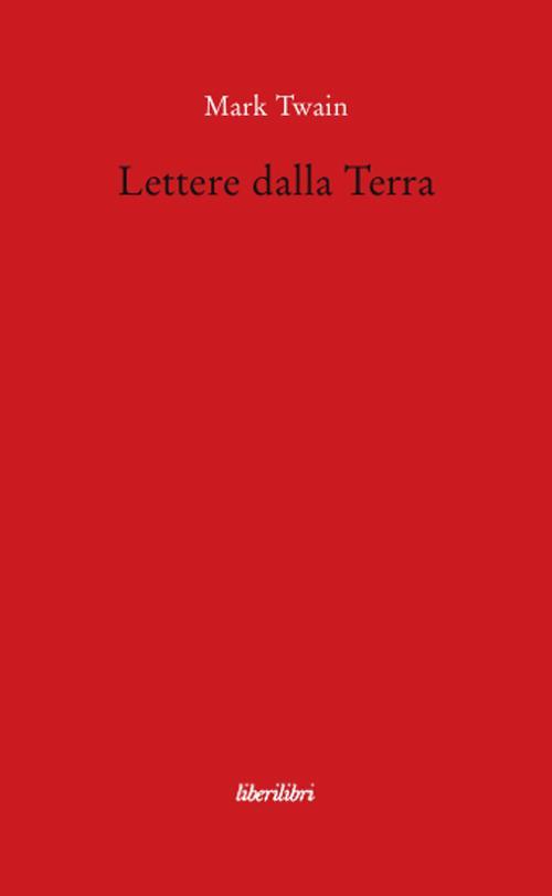 Lettere dalla terra - Mark Twain - copertina
