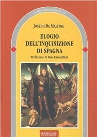 Elogio dell'Inquisizione di Spagna - Joseph de Maistre - copertina