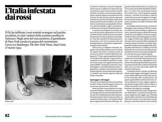 Avanti popolo! Il Partito comunista italiano raccontato dai giornali di tutto il mondo - 4