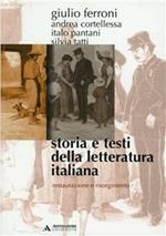 Storia e testi della letteratura italiana. Vol. 7: Restaurazione e Risorgimento (1815-1861).