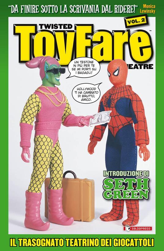 Twisted Toyfare theatre. Il trasognato teatrino dei giocattoli. Vol. 2 - copertina