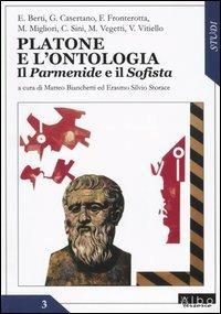 Platone e l'ontologia. Il «Parmenide» e il «Sofista» - copertina
