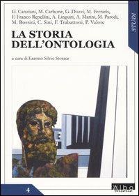 La storia dell'ontologia - copertina