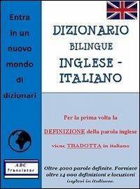 Dizionario bilingue inglese-italiano - Catherine Guétienne,Giovanni Vianello - copertina