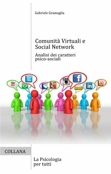 Comunità virtuali e social network - Gabriele Gramaglia - copertina