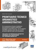 Prontuario tecnico urbanistico amministrativo