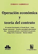 Operación económica y teoría del contrato