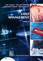 Cost Management. Vol. 2