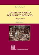 Il sistema aperto del diritto romano. Antologia di testi