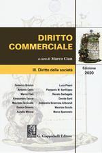 Diritto commerciale. Vol. 3: Diritto delle società.