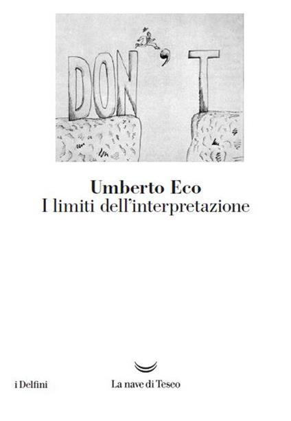 I limiti dell'interpretazione - Umberto Eco - copertina