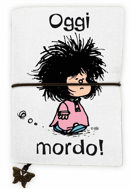 Quaderno piccolo Mafalda. Oggi mordo!