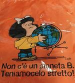 Smart bag Mafalda. Non c'è un pianeta B. Teniamocelo stretto