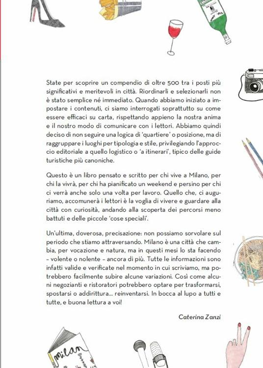 Conosco un posto. Milano - Caterina Zanzi - 5