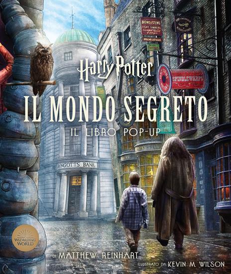 Harry Potter. Il mondo segreto. Il libro pop-up - J. K. Rowling - copertina
