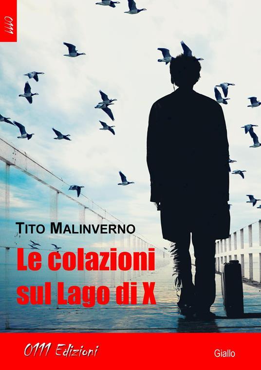 Le colazioni sul lago di X - Tito Malinverno - copertina