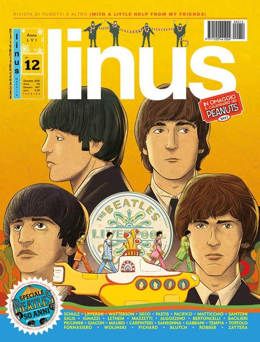 Linus (2020). Con Calendario. Vol. 12 - copertina