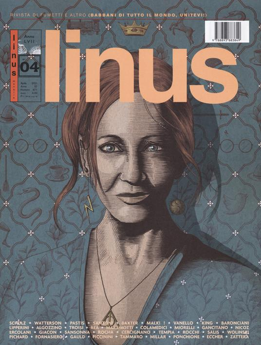 Linus (2021). Vol. 4 - copertina