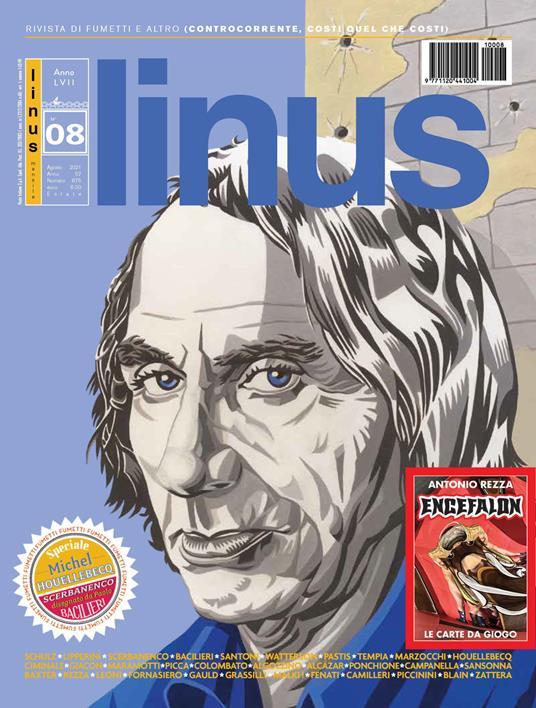 Linus (2021). Con carte Encefalon di Antonio Rezza. Vol. 8 - copertina