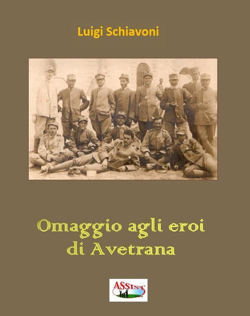 Omaggio agli eroi di Avetrana - copertina