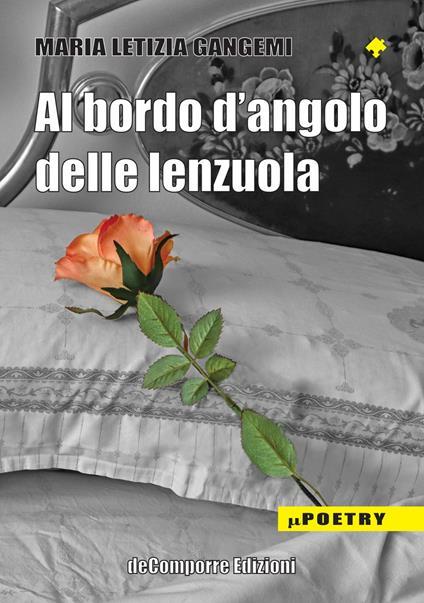 Al bordo d'angolo delle lenzuola - Maria Letizia Gangemi - copertina
