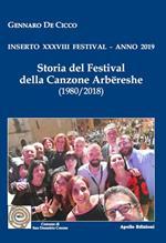Storia del Festival della canzone arbëreshe. Inserto 38° Festival, anno 2019