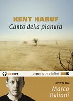 Canto della pianura letto da Baliani Marco. Audiolibro. CD Audio formato MP3. Audiolibro. CD Audio formato MP3. Ediz. integrale