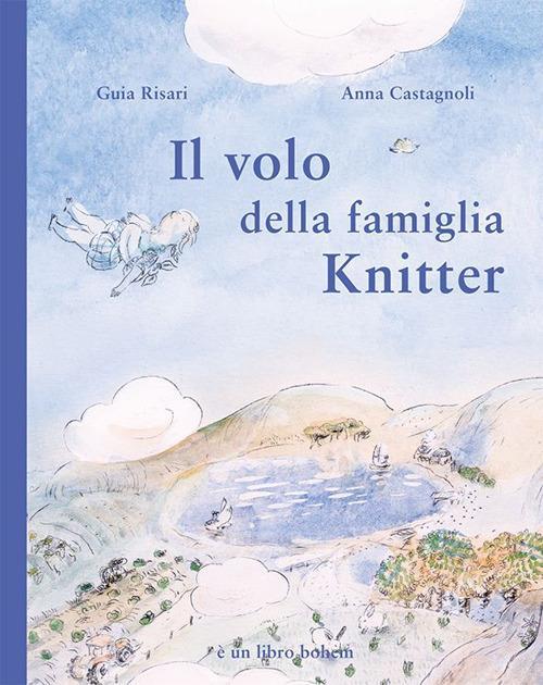 Il volo della famiglia Knitter - Guia Risari - copertina