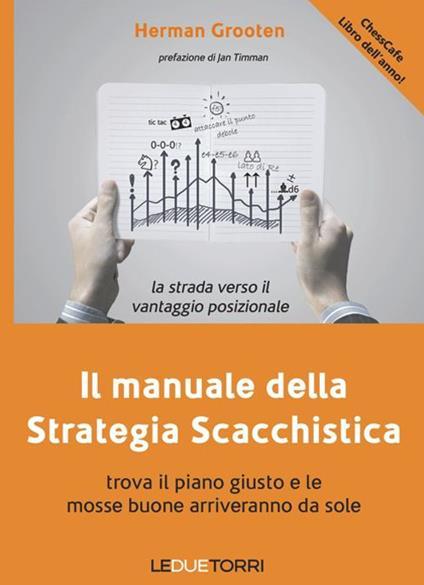 Il manuale della strategia scacchistica. Trova il piano giusto e le buone mosse arriveranno da sole - Herman Grooten - copertina