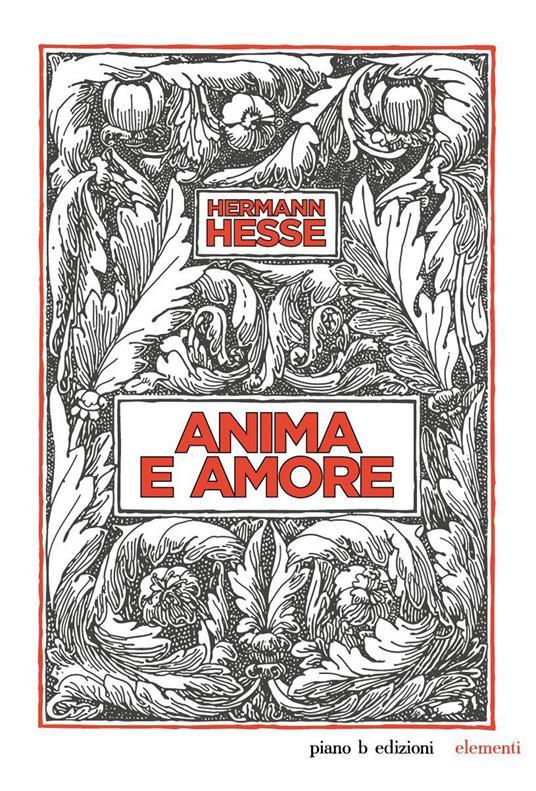 Anima e amore - Hermann Hesse - copertina
