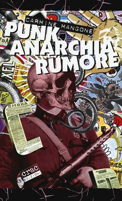 Punk, anarchia, rumore - Carmine Mangone - copertina