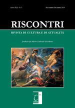 Riscontri. Rivista di cultura e di attualità (2019). Vol. 3
