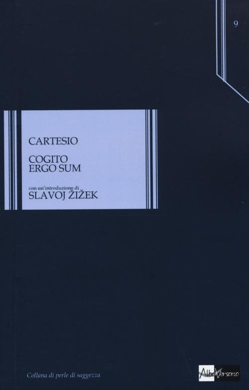 Cogito ergo sum - Renato Cartesio - copertina