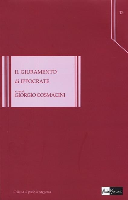 Il giuramento di Ippocrate - copertina