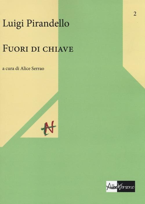 Fuori di chiave - Luigi Pirandello - copertina