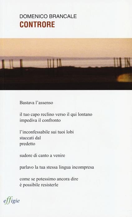 Controre - Domenico Brancale - copertina