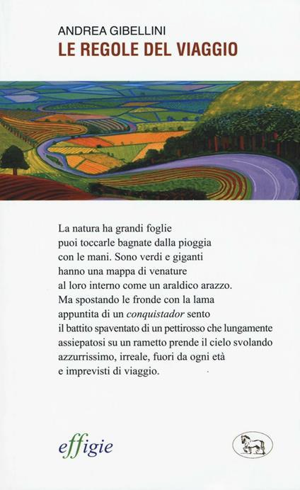 Le regole del viaggio - Andrea Gibellini - copertina