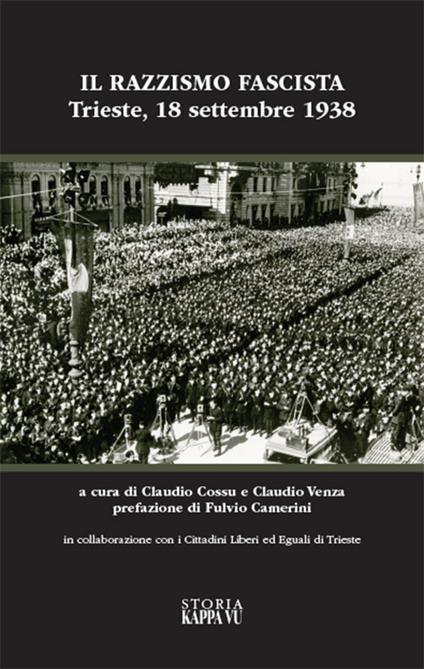 Il razzismo fascista a Trieste e provincia - copertina