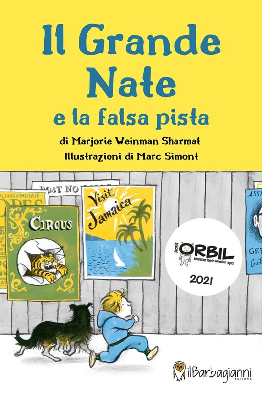 Il grande Nate e la falsa pista - Marjorie Weinman Sharmat - copertina