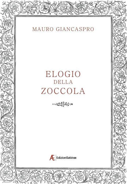 Elogio della zoccola - Mauro Giancaspro - copertina