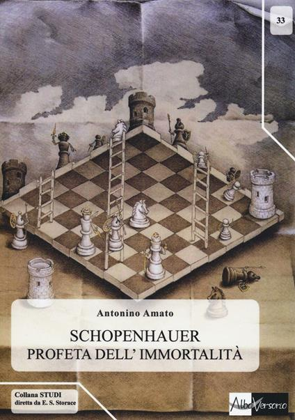 Schopenhauer profeta dell'immortalità - Antonino Amato - copertina